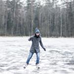 Jeździć na łyżwach